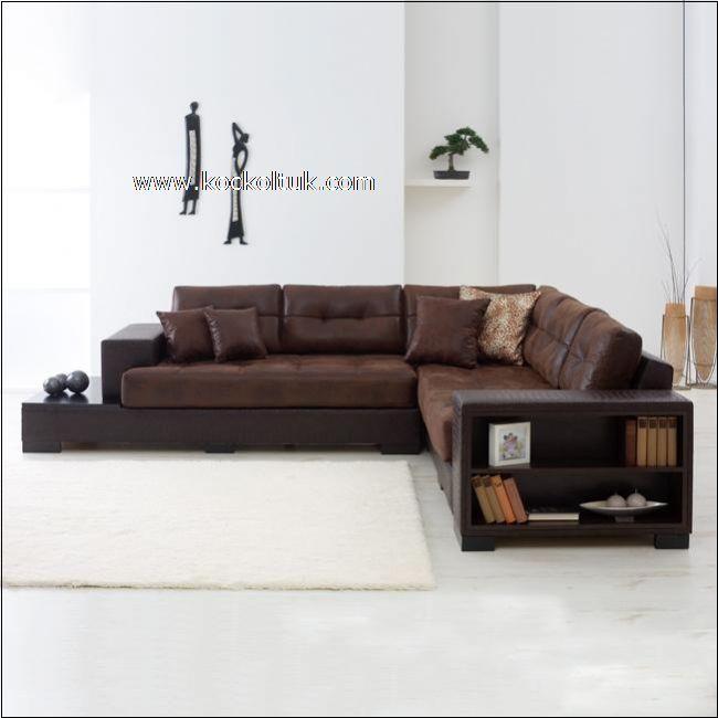 modern deri köşe koltuk takımı